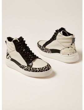 White Leather Sollo Sneakers by Topman