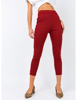 The Caipiroska Pants Red by Princess Polly