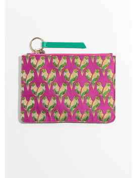 Tropical Bird Pouch by & Other Stories