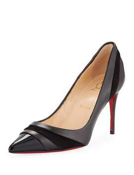 Eklectica 85mm Red Sole Pumps by Christian Louboutin