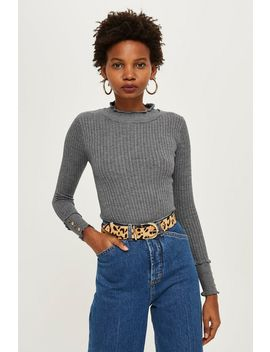 Petite Mini Cable Knit Jumper by Topshop