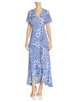 Joe Maxi Wrap Dress by Poupette St. Barth