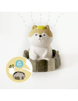 Shiba Inu Mini Natural Humidifier // Christmas Gift // New Year Gift // Year Of Dog 2018 by Octstorehk