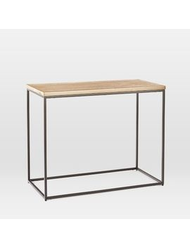 Streamline Side Table   Whitewashed by West Elm
