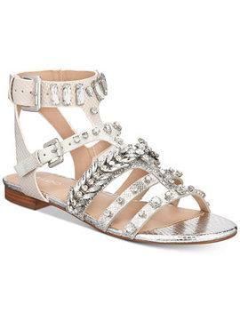 Brari Embellished Gladiator Sandals by Aldo