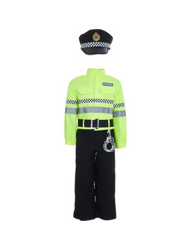 Yellow Three Piece Police Costume by I Want To Be