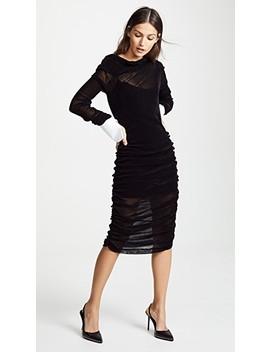 Velvet Dress by Jourden