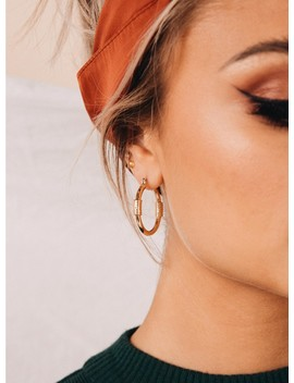 Minc Collections Dakota Hoops Gold by Minc Collections
