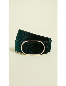 Oval Velvet Belt by Frame