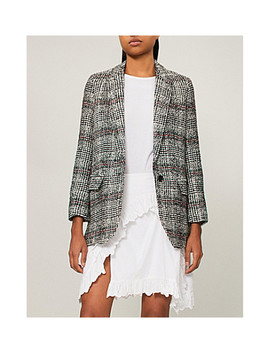 Checked Woven Jacket by Isabel Marant Etoile