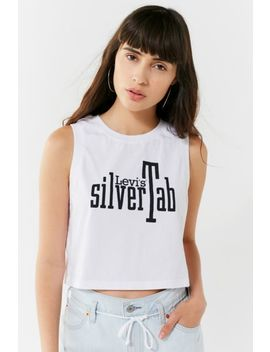 Levi's Silver Tab Cropped Tank Top by Levi's