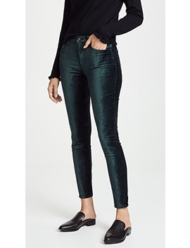 The Velvet Ankle Skinny Pants by 7 For All Mankind