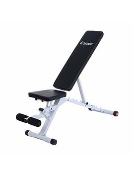 Goplus Standard Incline Sit Up Bench Flat Ab Board Adjustable Workout Equipment by Goplus