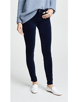 815 Mid Rise Velvet Super Skinny Pants by J Brand