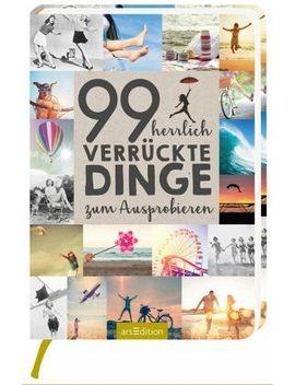 Gebundenes Buch »99 Herrlich Verrückte Dinge Zum Ausprobieren« by Otto