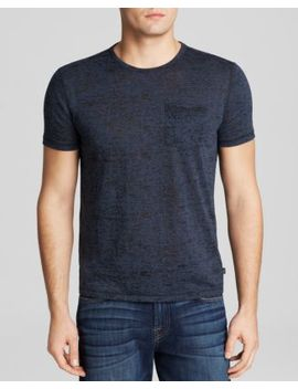 Short Sleeve Burnout Tee by John Varvatos Star Usa