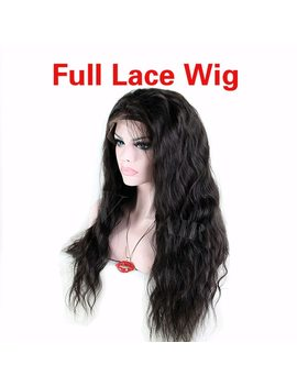 Glueless Full Lace Human Hair Wigs For Black Women Peruvian Hair Body Wave Full Lace Wig & Lace Front Wigs With Baby Hair  by Ali V