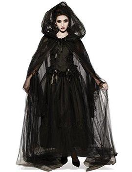 Rubie's Costume Co. Women's Black Hooded Cape by Rubie%27s