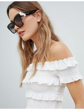 Marc Jacobs Daisy Square Sunglasses by Marc Jacobs