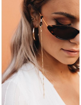 Gold Link Sunglass Chain by Princess Polly