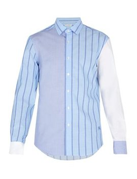 Striped Cotton Shirt by Jw Anderson
