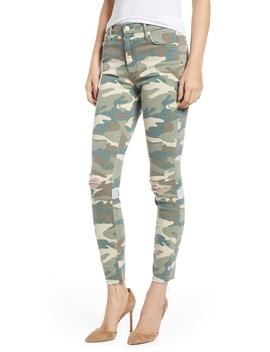The Looker Ripped High Waist Ankle Skinny Jeans by Nordstrom