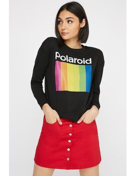 Polaroid Graphic Sweater by Urban Planet