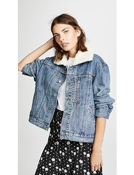 York Denim Jacket by Sandy Liang
