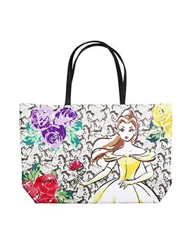Disney Beauty And The Beast Dreaming Of The Ball Tote Handbag by Fab Starpoint