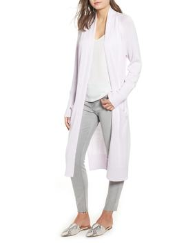 Side Split Midi Cardigan by Nordstrom