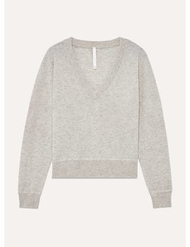 Luxe Cashmere Deep V by The Group By Babaton
