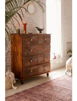 Sunburst 4 Drawer Dresser by Urban Outfitters