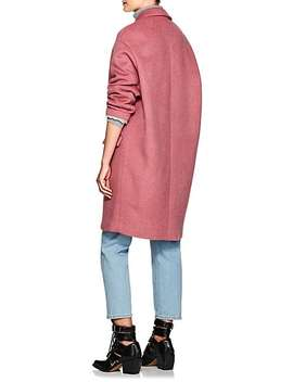 Filipo Wool Blend Felt Coat by Isabel Marant
