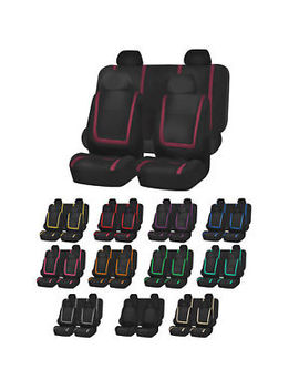 Auto Seat Covers For Car Sedan Truck Van Universal Seat Covers 12 Colors by Fh Group