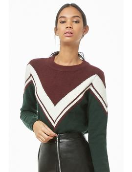 Noisy May Colorblock Sweater by Forever 21