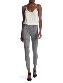 Plaid High Waist Trousers by June & Hudson