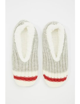 Thermal Faux Fur Slippers by Urban Planet