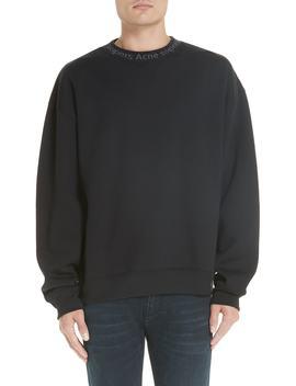 Logo Collar Oversize Sweatshirt by Nordstrom