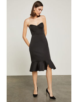 Strapless Bustier Sheath Dress by Bcbgmaxazria