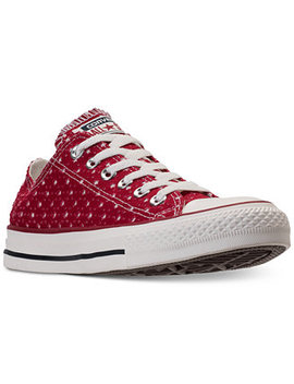 Unisex Chuck Taylor Ox Casual Sneakers From Finish Line by Converse