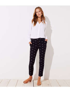 Slim Dachshund Pencil Pants In Marisa Fit by Loft