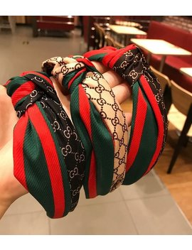 Gucci Hair Scarf Headband Hair Bow Headband 3 Optional Color Bandanas by Robertmaker
