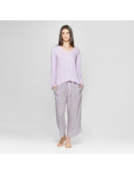 Women's Pajama Set   Gilligan & O'malley™ Violet by Gilligan & O'malley™