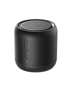 Anker Sound Core Mini, Super Portable Bluetooth Speaker With 15 Hour Playtime, 66 Foot Bluetooth Range, Enhanced Bass, Noise Cancelling Microphone   Black by Anker