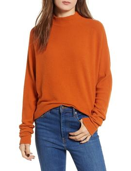 Dolman Sleeve Ribbed Top by Nordstrom