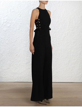 Laced In Jumpsuit by Zimmermann