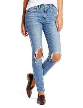721 Ripped High Waist Skinny Jeans by Nordstrom