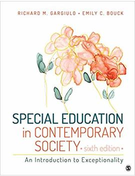 Special Education In Contemporary Society: An Introduction To Exceptionality by Amazon