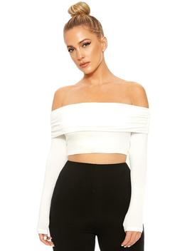 The Nw Off My Shoulders Crop by Naked Wardrobe