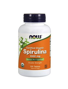 Now Spirulina 1000 Mg,120 Tablets by Now Foods